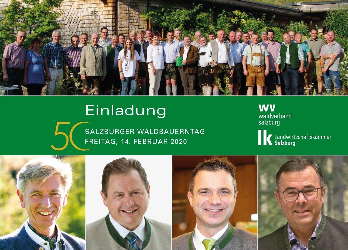 Einladung zum 50. Waldbauerntag – 2020