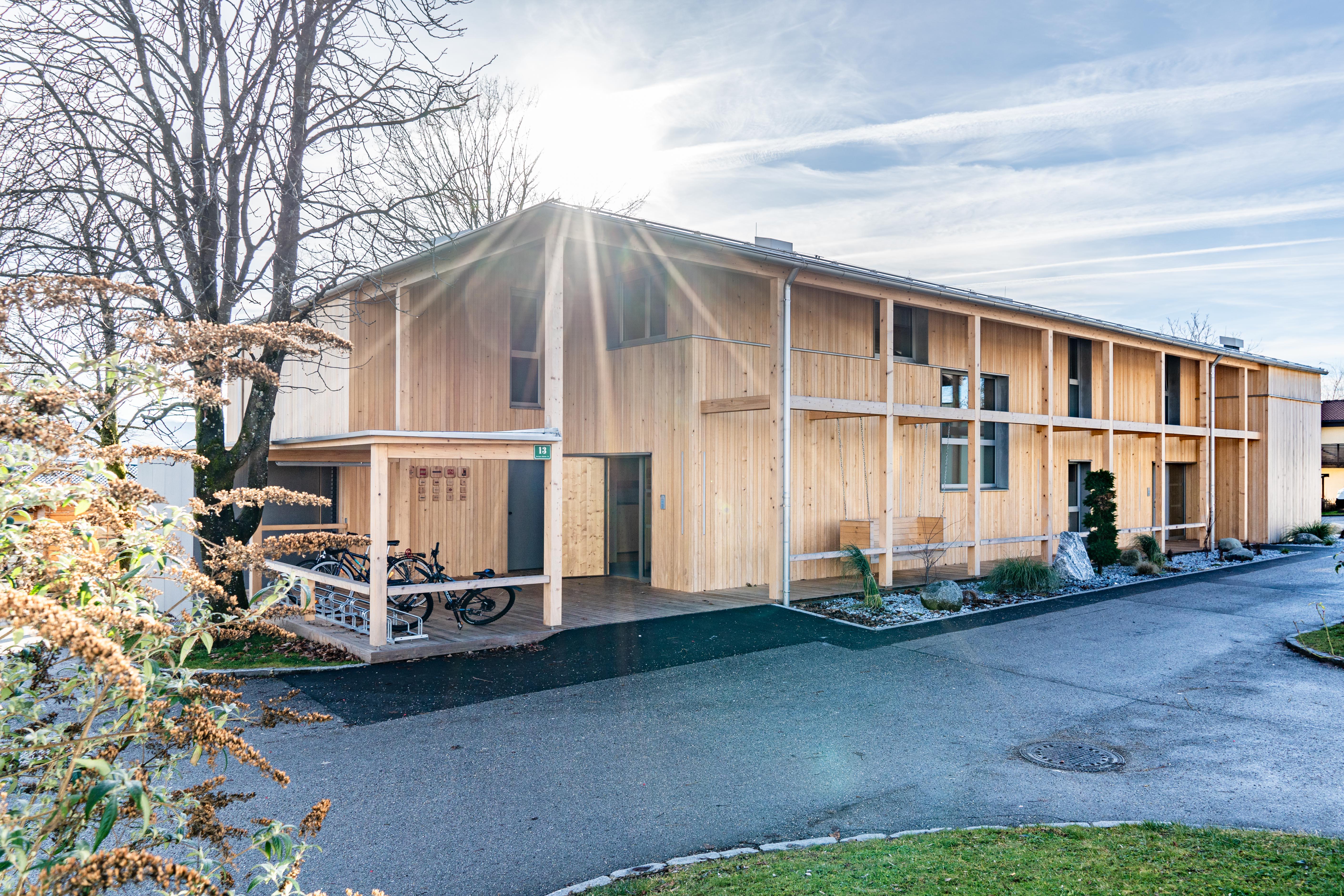 SOS-Kinderdorf setzt auf Holz