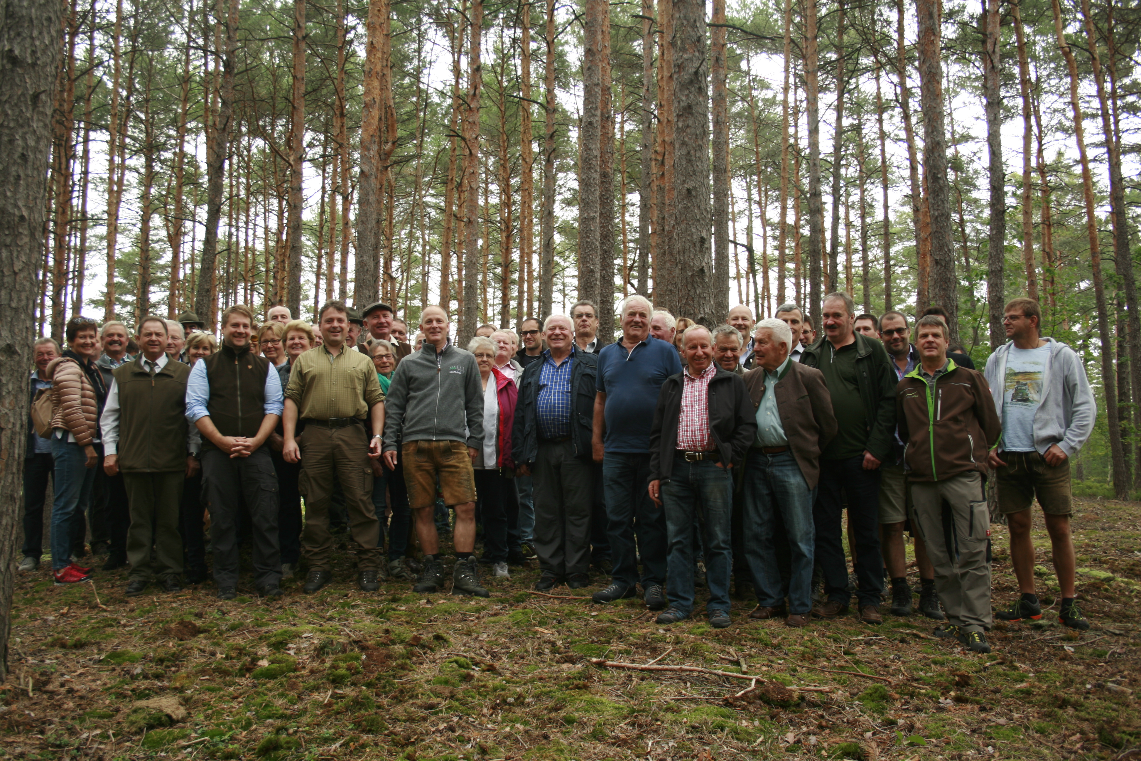 Forstexkursion 2019 – Salzburgs Waldbesitzer informieren sich in Bayern