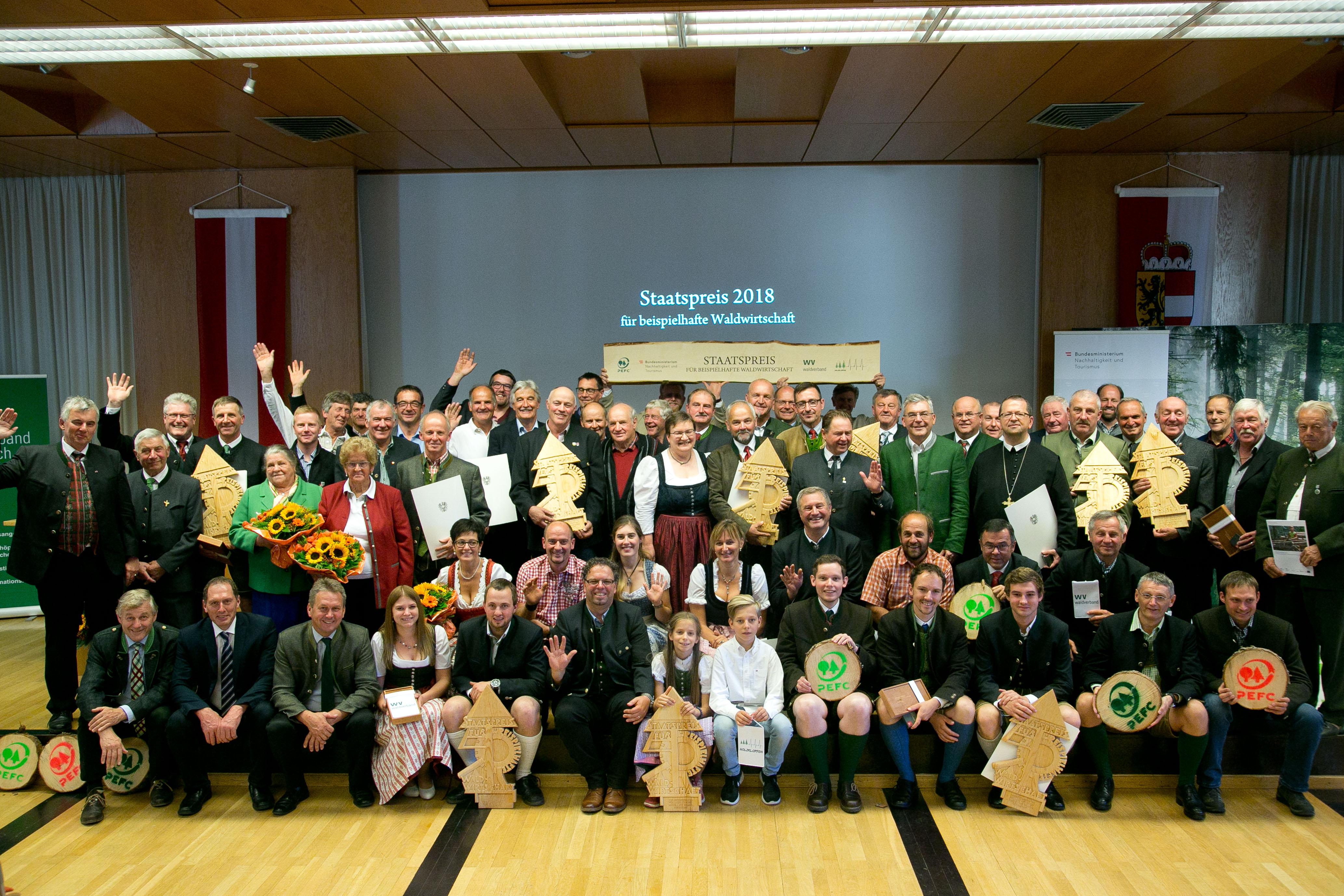 Staatspreisverleihung in Salzburg